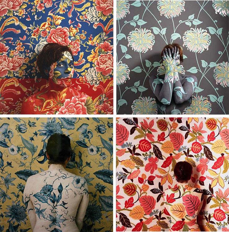 Wallpaper Women by Cecilia Paredes