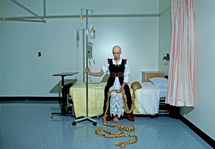 Rapunzel Cancer | Fallen Princess by Dina Goldstein