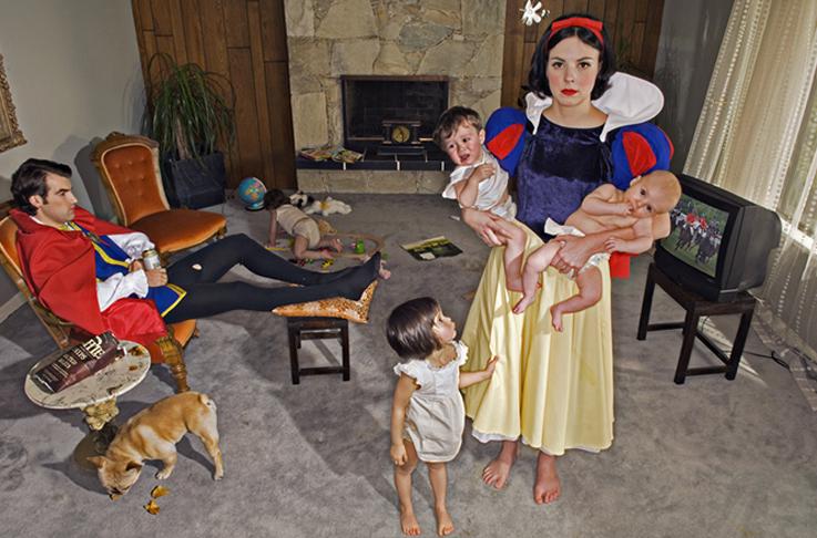 Snow White | Fallen Princess by Dina Goldstein