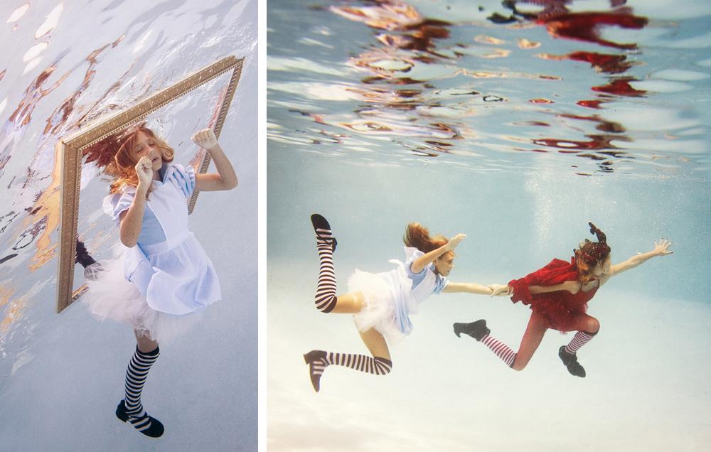 Elena Kalis Underwater Photoshoot