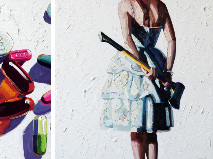 Murder Housewives Paintings by Kelly Reemtsen