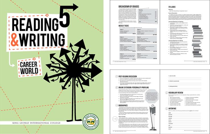 KGIC | School Book Design