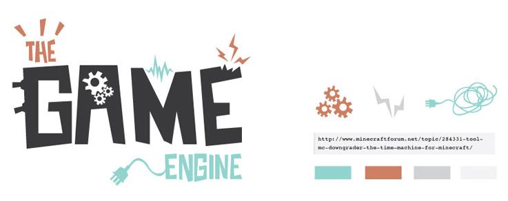 The Game Engine | Branding