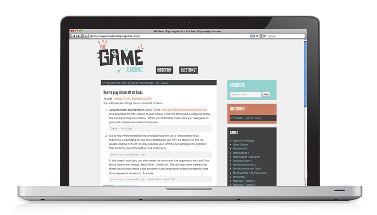 The Game Engine | Blog and Posts
