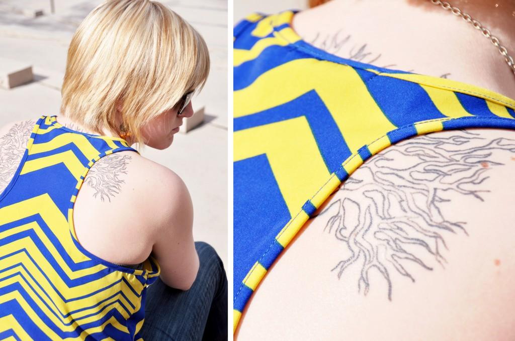 Tree Tattoo | Alicia Carvalho Photography