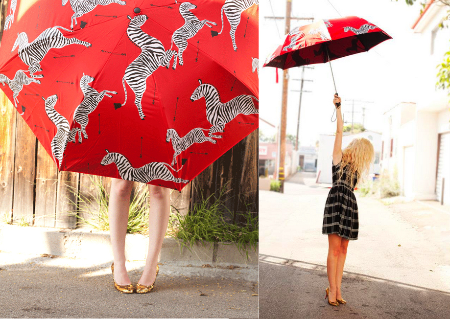 The Royal Tennenbaums Zebra Umbrella
