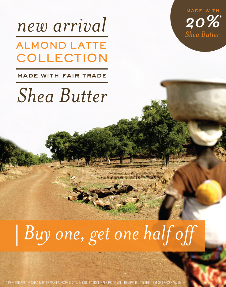 Shea Butter Promotion Poster | Escents | Alicia Carvalho