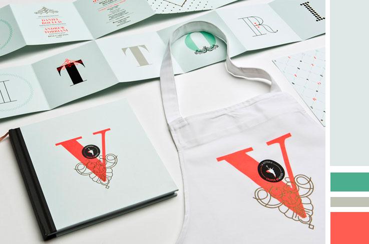 La Vittoria Event branding | www.alicia-carvalho.com/blog