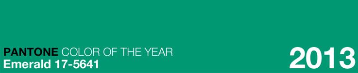 Pantone of 2013: Emerald 17-5641