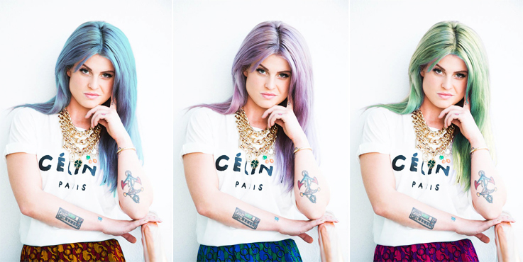 Kelly Osbourne Colourized | www.alicia-carvalho.com