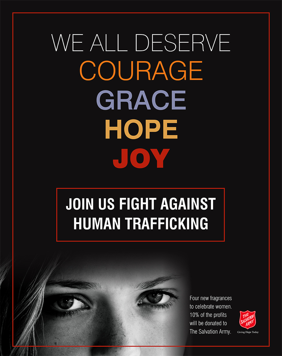 Human Trafficking Campaign for Escents Aromatherapy, Poster Design | www.alicia-carvalho.com