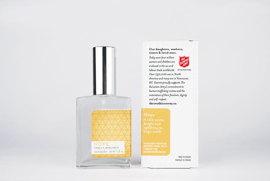 Eau De Parfum Packaging Design for Escents Aromatherapy | www.alicia-carvalho.com