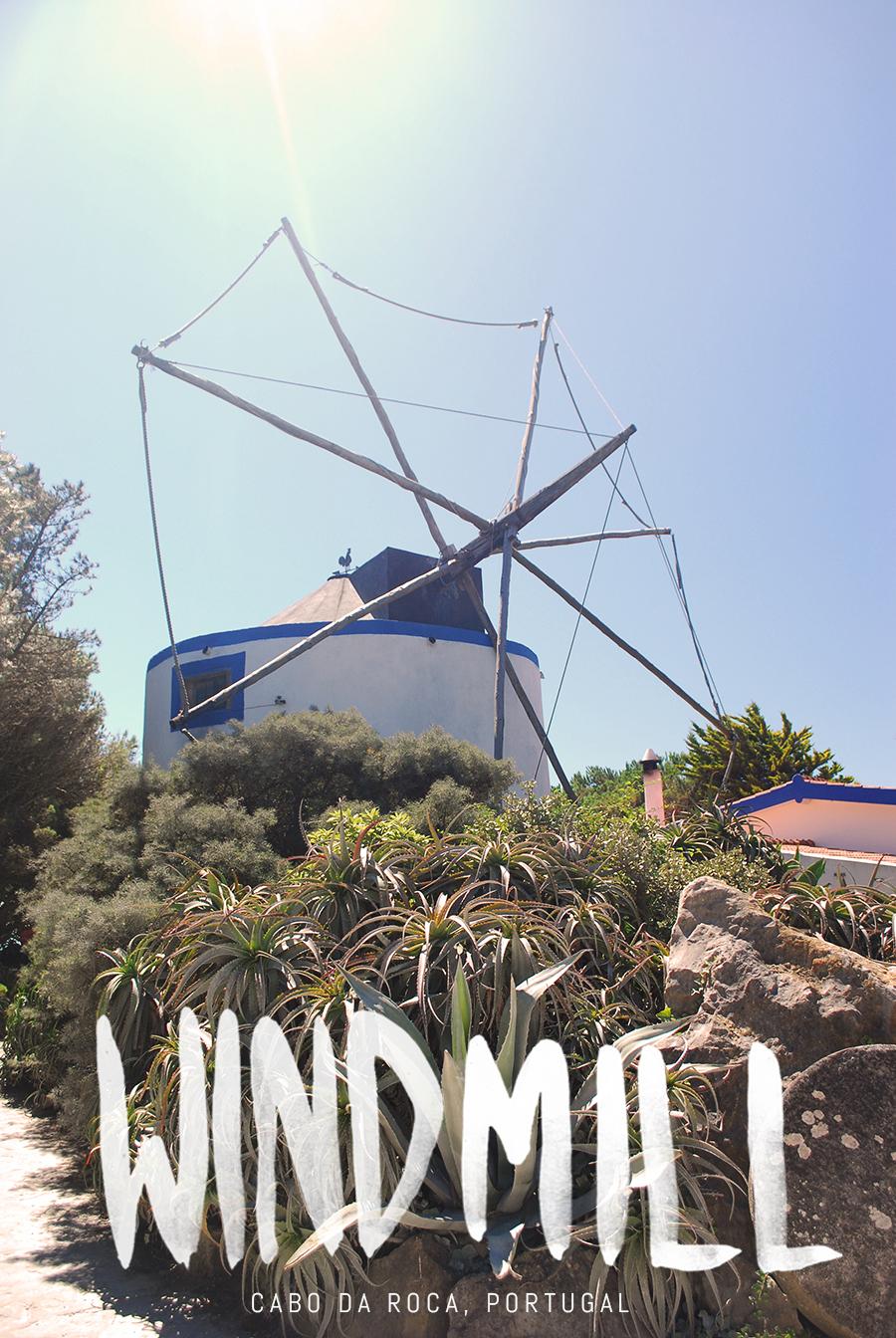 Dom Quixote Windmill, Cabo da Roca, Portugal | www.alicia-carvalho.com