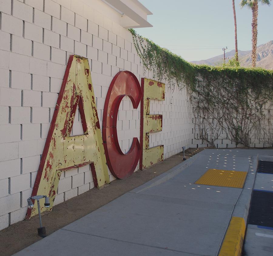 Ace Hotel, Palm Springs. Designervaca | www.alicia-carvalho.com