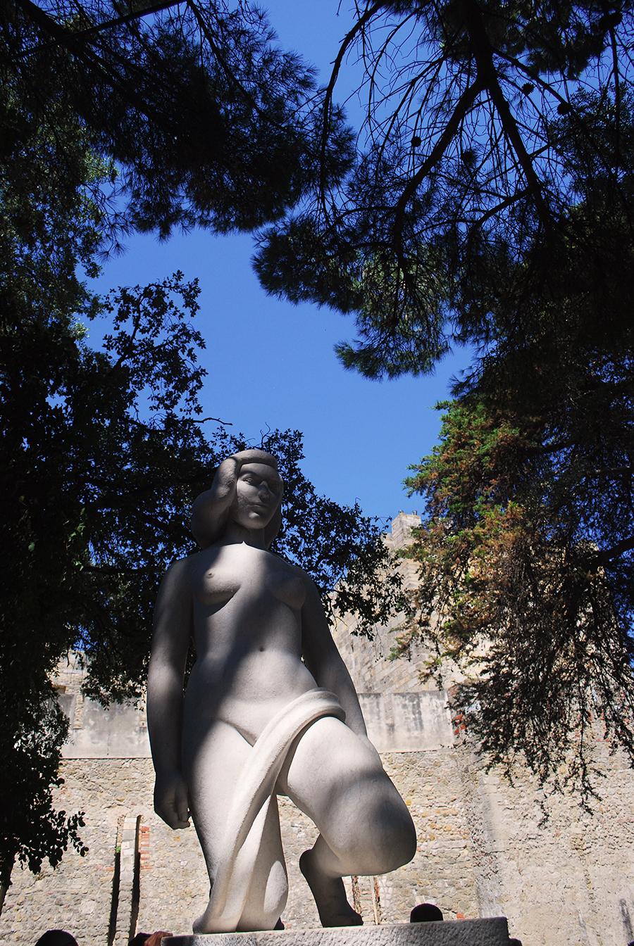 Castel of São Jorge, Lisbon, Portugal | www.alicia-carvalho.com/blog