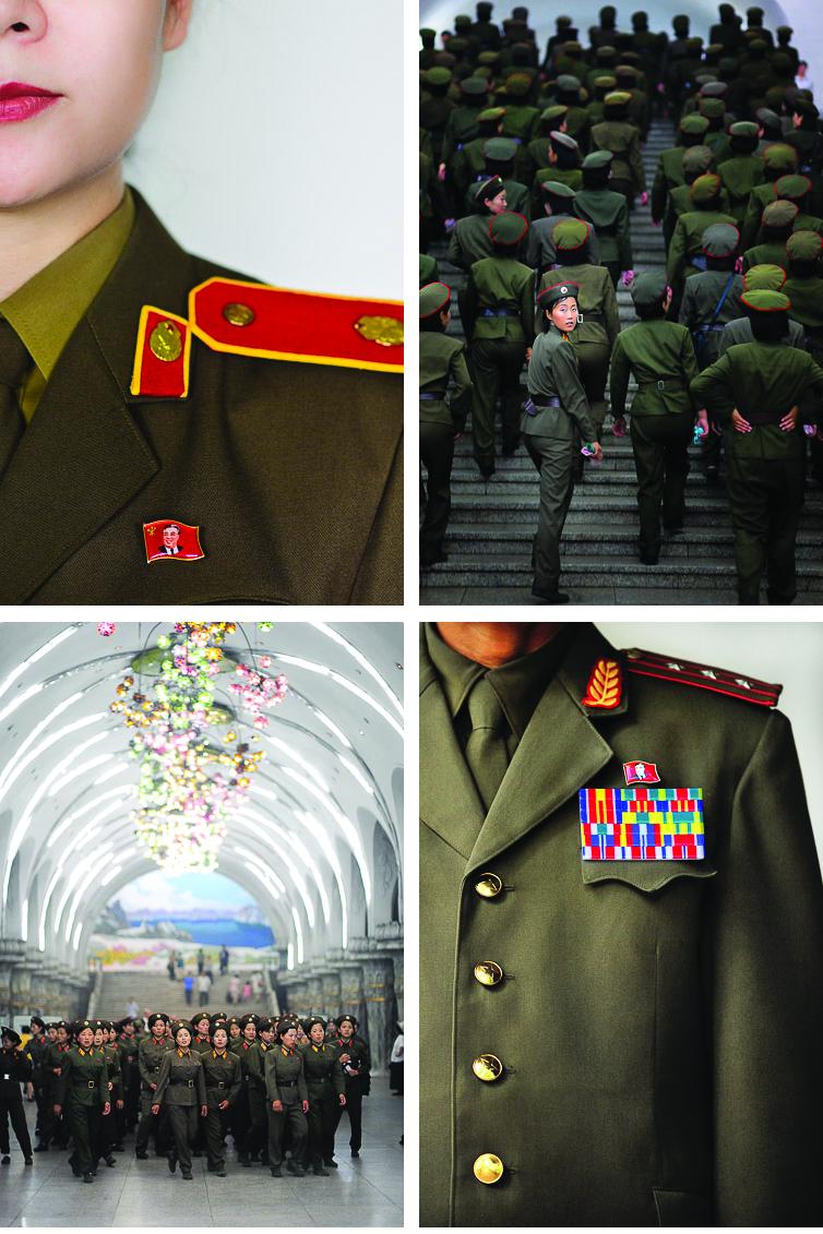 Uniforms. Photography by David De Vleeschauwer and the Vice Guide to Travel: North Korea | www.alicia-carvalho.com