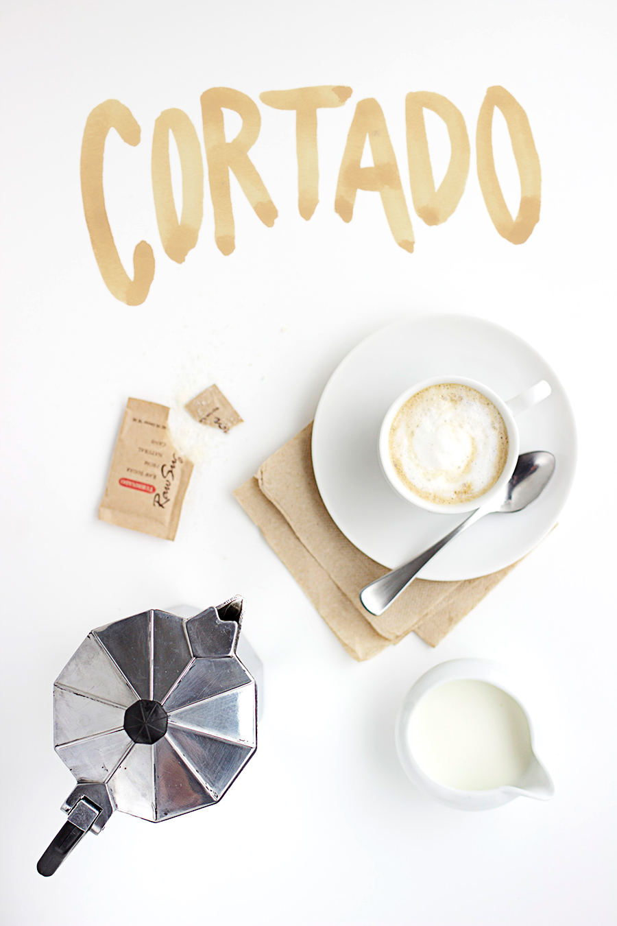 The Cortado. A Collaboration between The Artful Desperado and Alicia Carvalho | www.alicia-carvalho.com