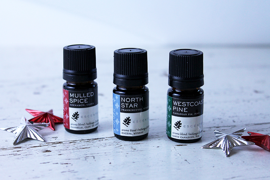 Escents Aromatherapy Holiday Collection, Aroma Blends | www.alicia-carvalho.com