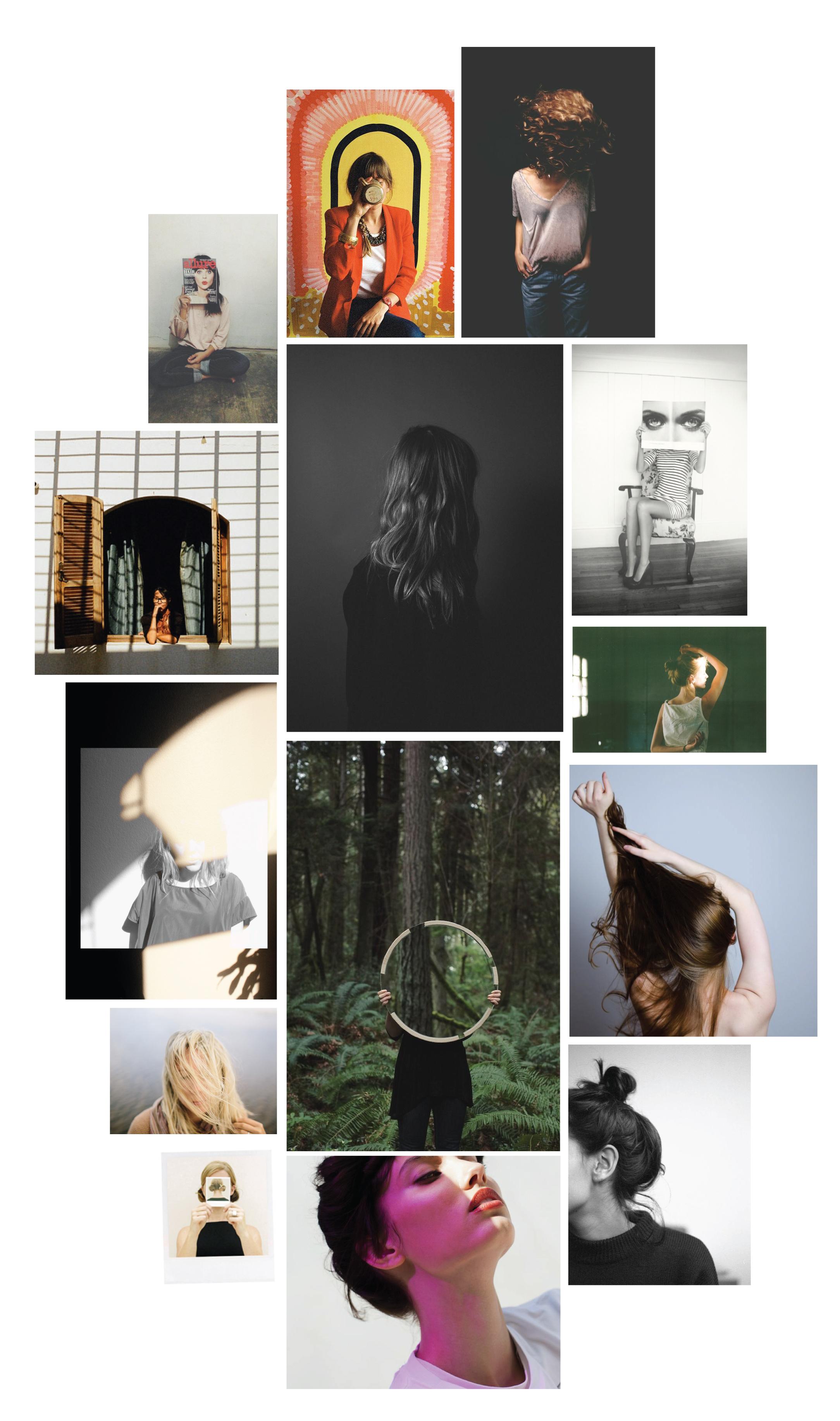 cretaive and artful Portrait Inspiration | www.alicia-carvalho.com/blog