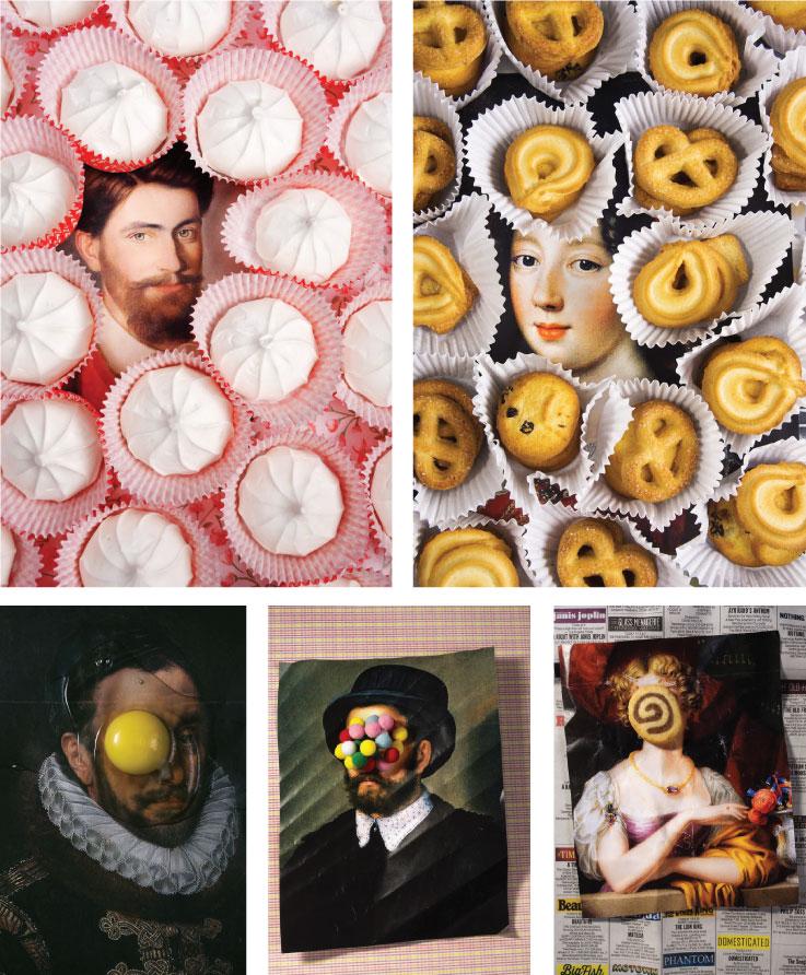 Zeren Badar food collage | www.alicia-carvalho.com/blog