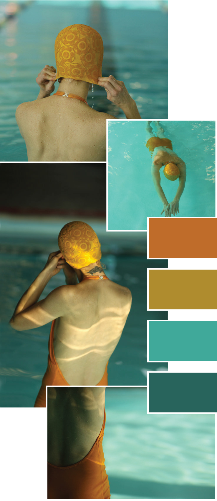 Lucy Snowe Photography. Mid-century Swimmers Collection | www.alicia-carvalho.com/blog