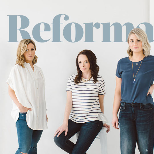 Logo Design and Branding Suite for Reformation Vancouver based Modern PR agency