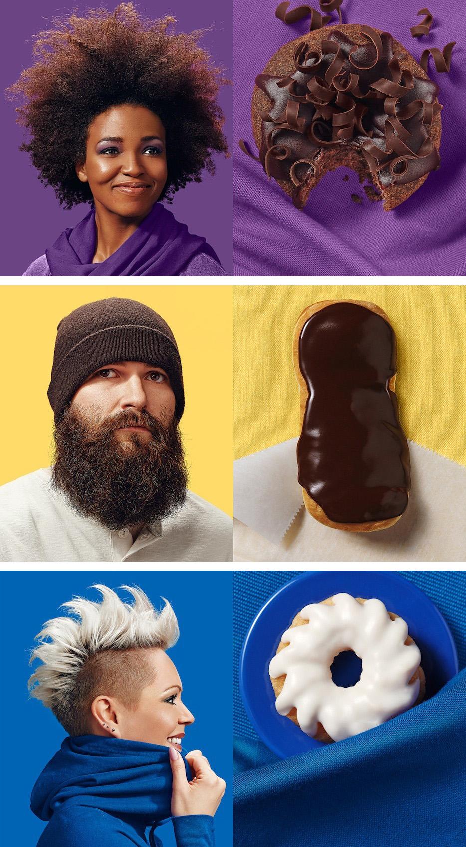 Brandon Voges x Strange Donut collaborate on Donut Doubles, a delicious portrait series | www.alicia-carvalho.com/blog