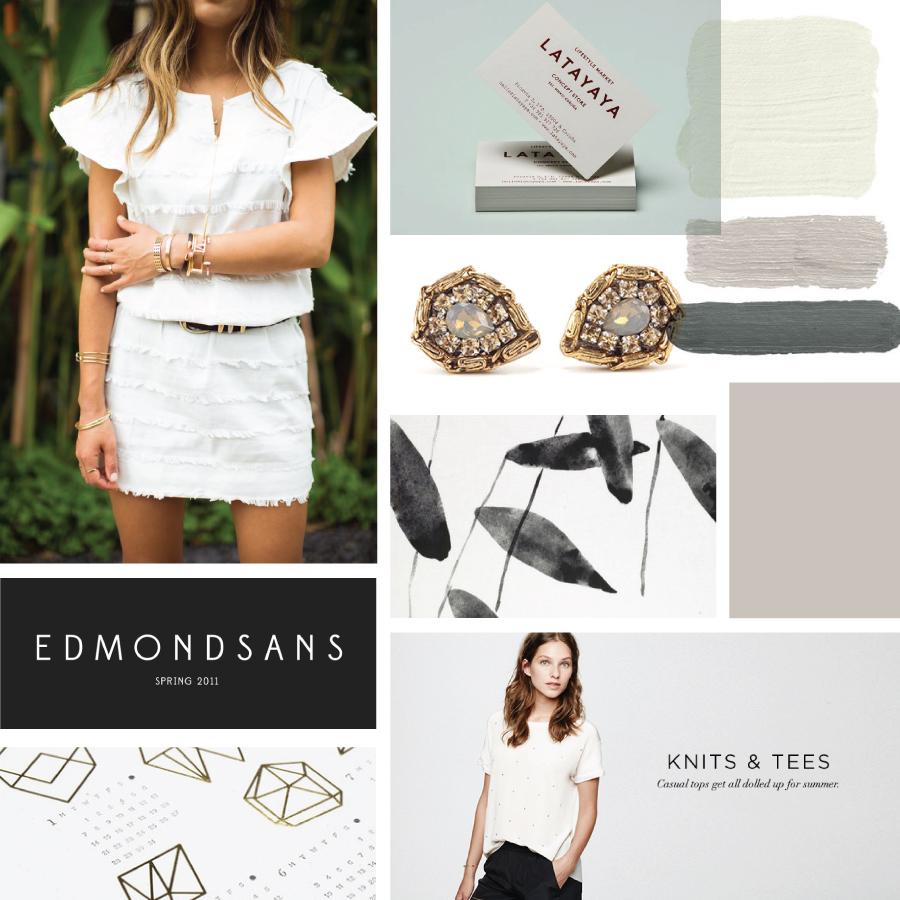 Jewellery Brand Moodboard | www.alicia-carvalho.com