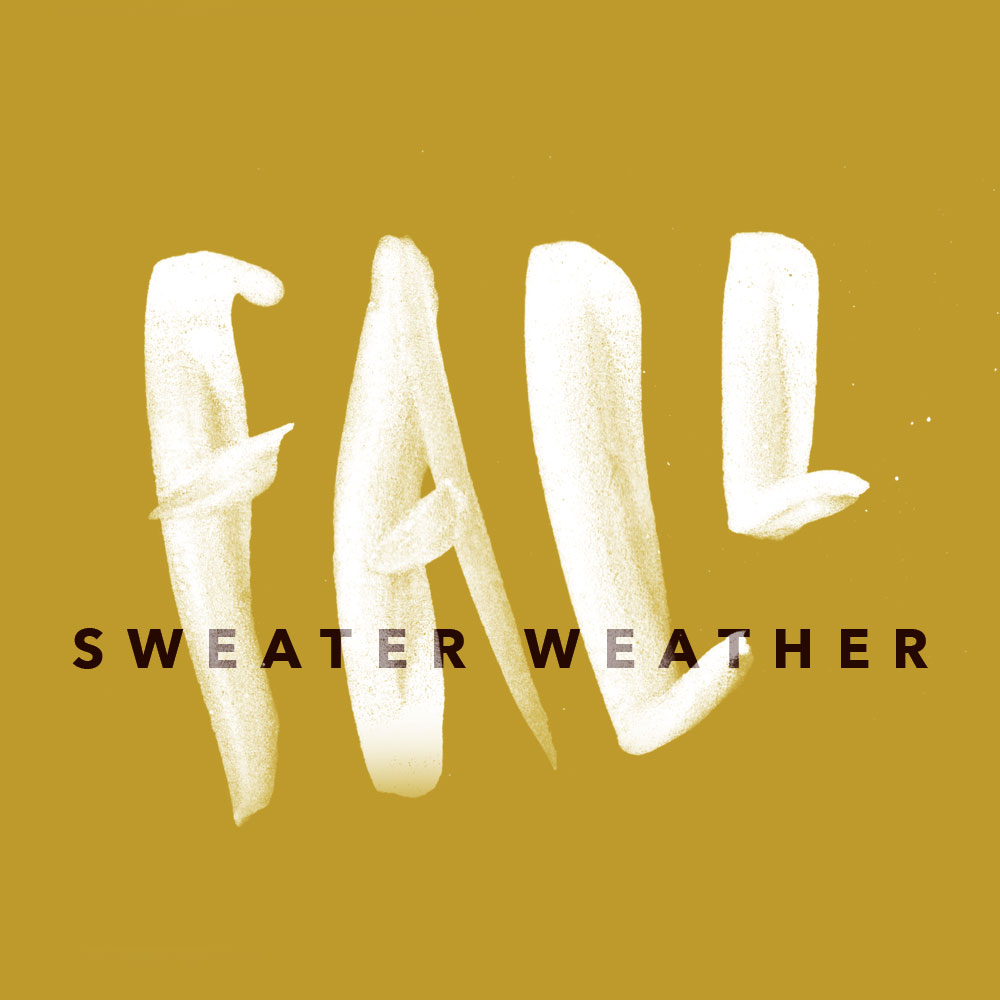 Fall Sweater Weather custom type | www.alicia-carvalho.com