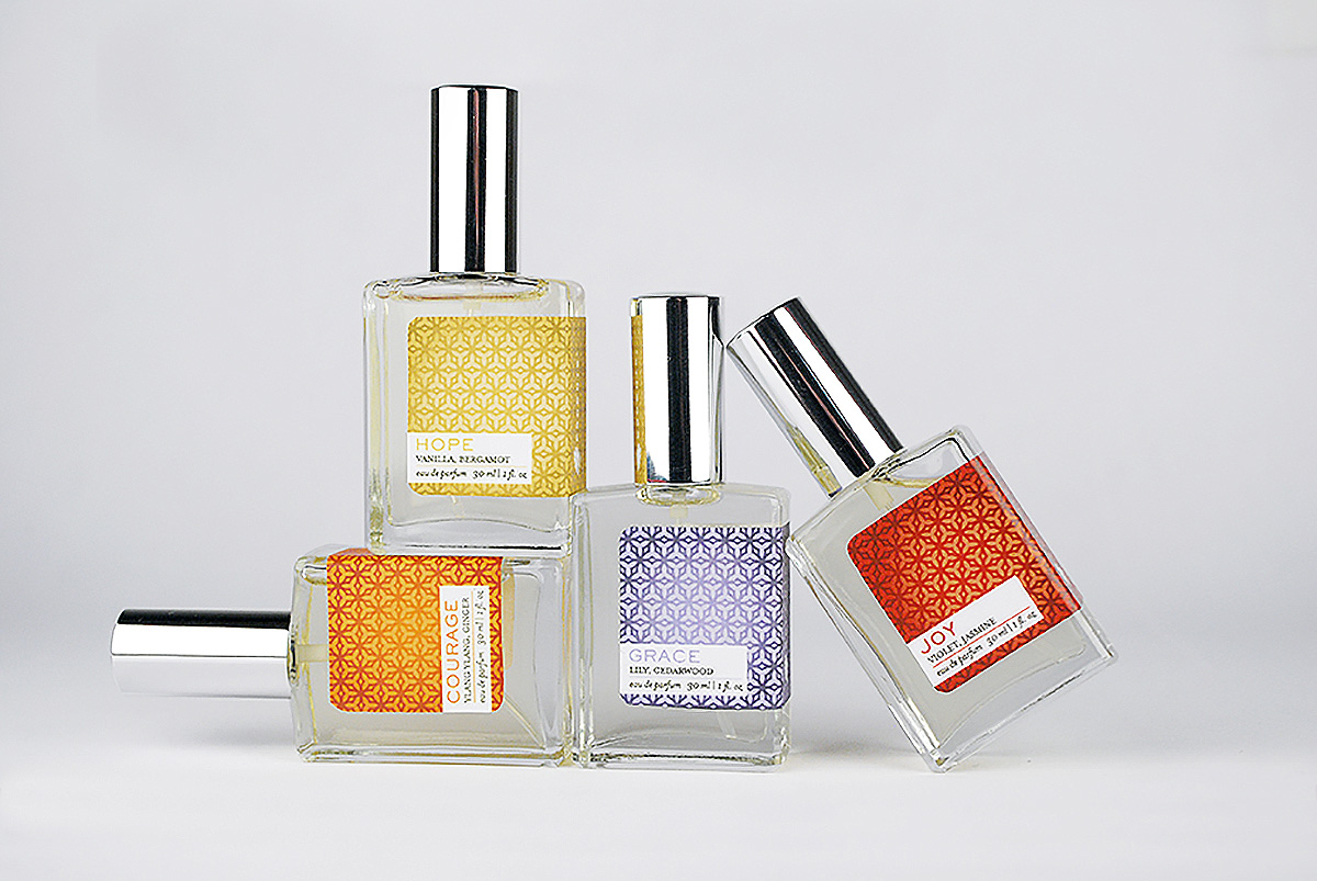 Escents Aromatherapy Perfume Collection Packaging Design | www.alicia-carvalho.com