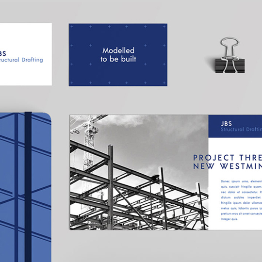 JBS Structural Drafting Company Branding | www.alicia-carvalho.com