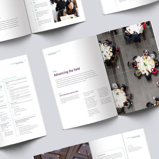 SFU, Simon Fraser University printed Research Report Design | www.alicia-carvalho.com