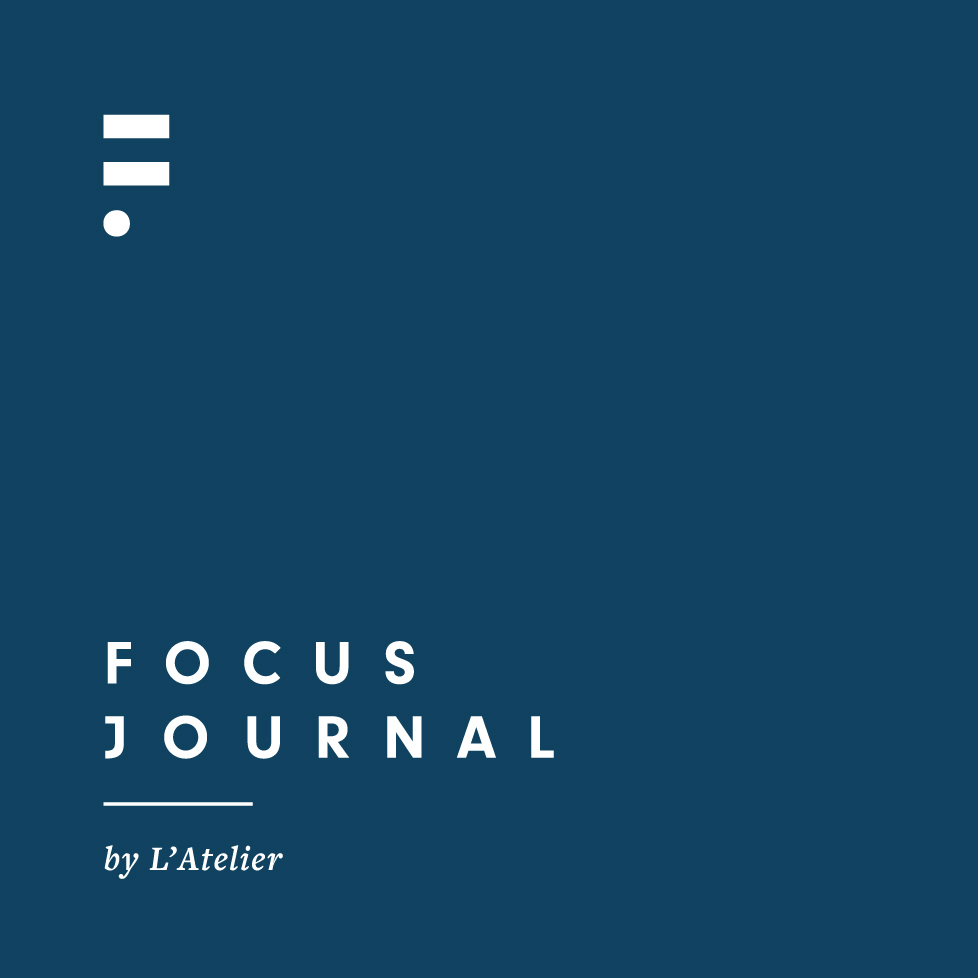 The Focus Journal minimal F monogram design | www.alicia-carvalho.com