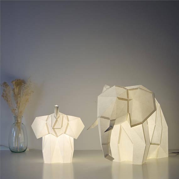 DIY Owl Paper Lamps  | www.alicia-carvalho.com