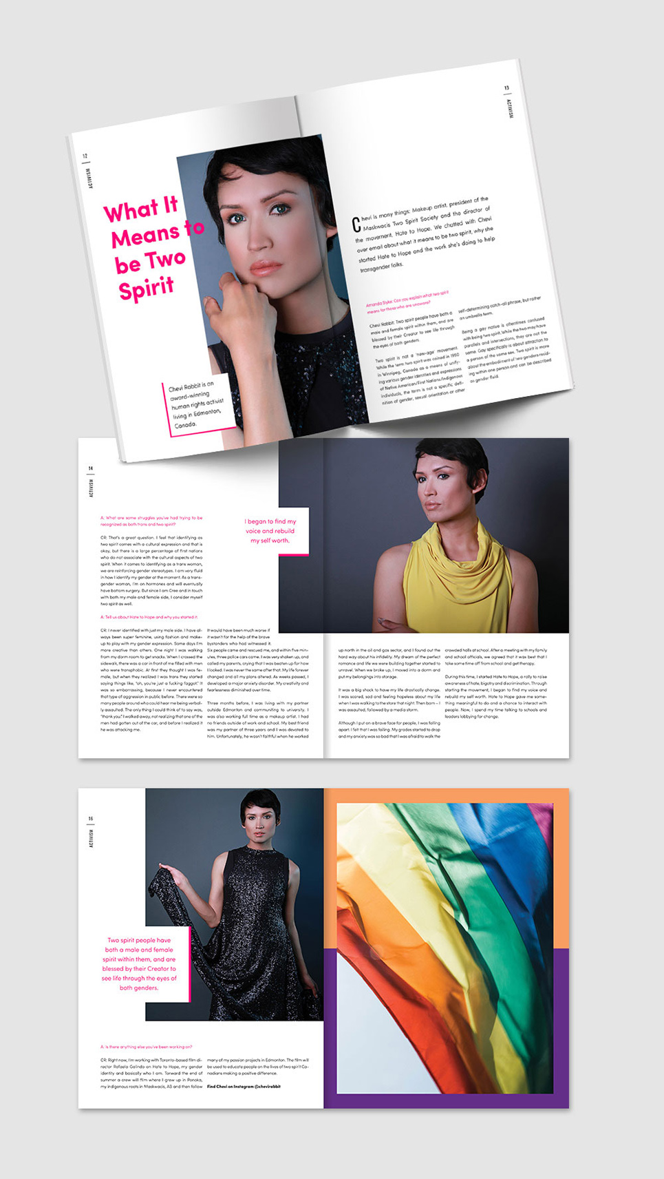FLURT Magazine print design and editorial layout | www.alicia-carvalho.com