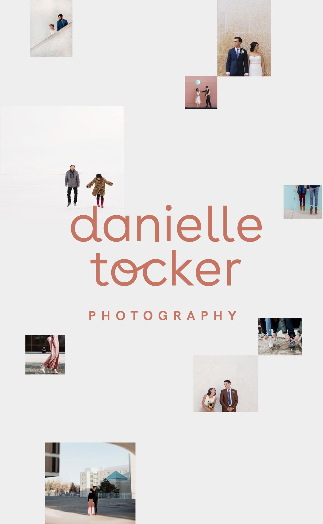 Danielle Tocker Photography Logo Design and Branding | www.alicia-carvalho.com