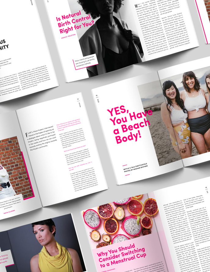 FLURT Magazine Publication and Layout Design | wwww.alicia-carvalho.com