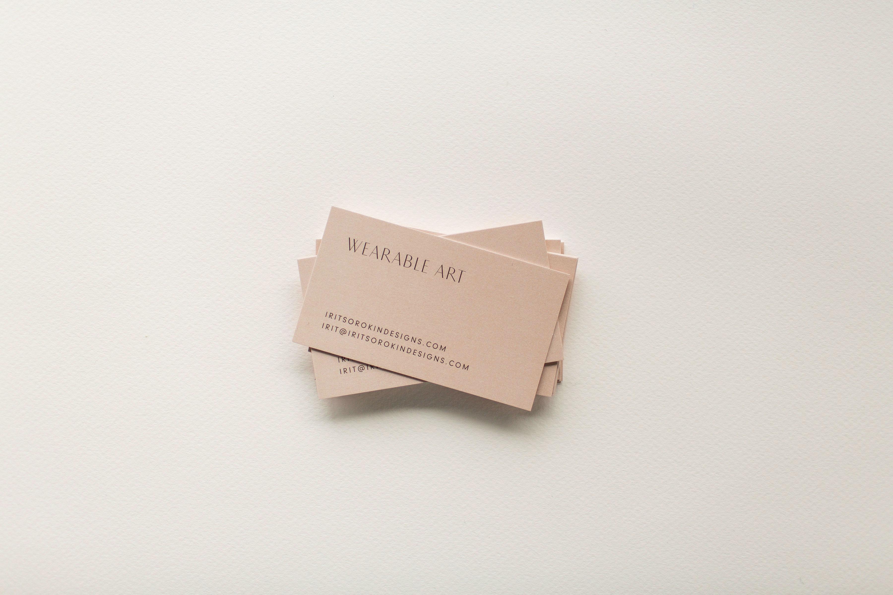 Irit Sorokin Branding, Logo Design and Business Card Design   www.alicia-carvalho.com