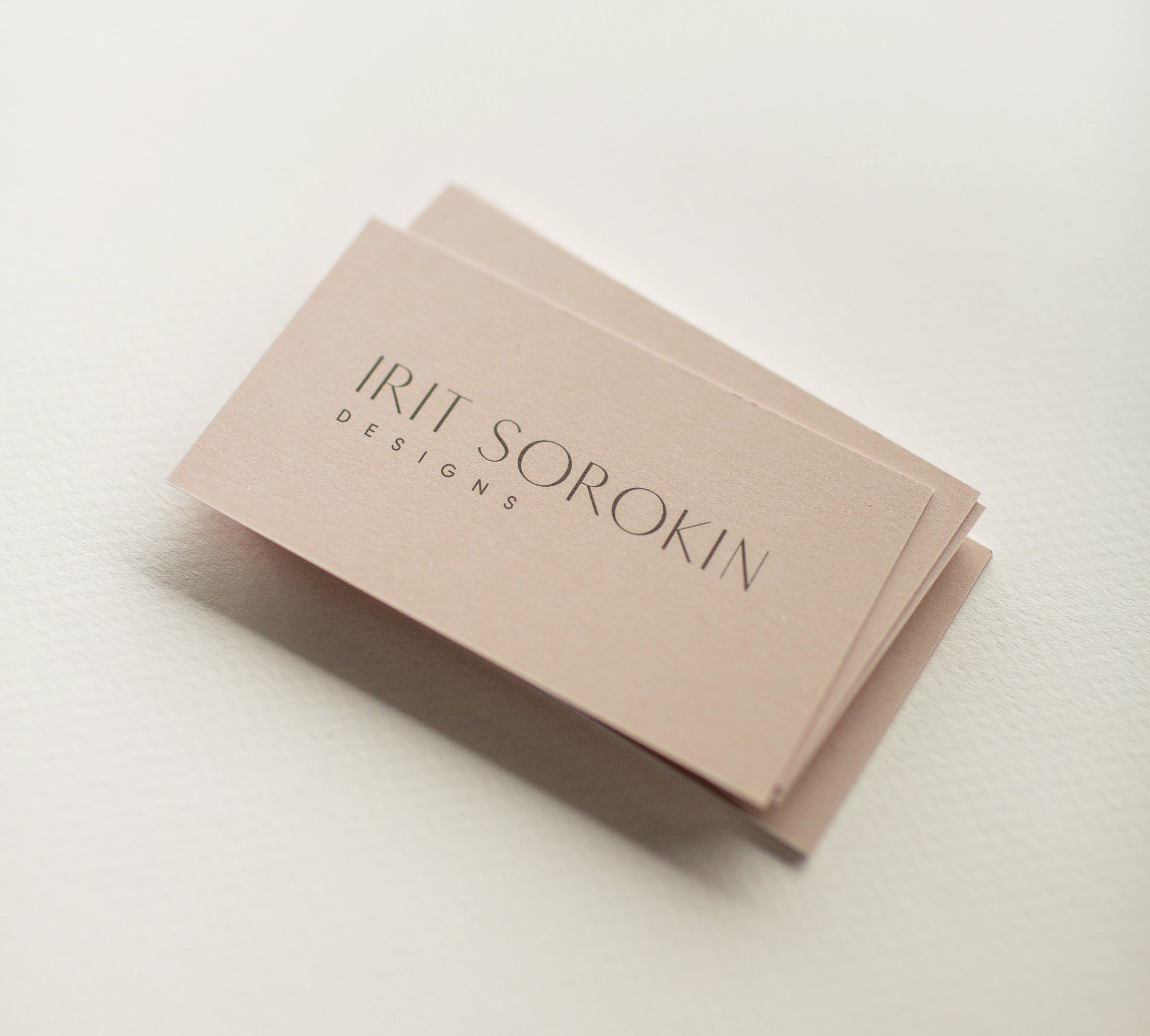 Irit Sorokin Branding and Business Card Design | www.alicia-carvalho.com