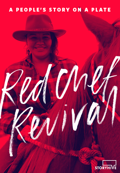 Cezin Nottaway Poster for award winning documentary series Red Chef Revival by Black Rhino Creative | www.alicia-carvalho.com