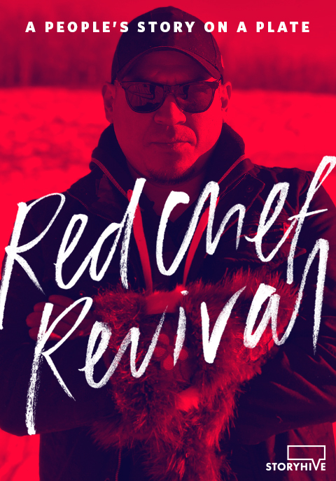 Rich Francis Poster for award winning documentary series Red Chef Revival by Black Rhino Creative | www.alicia-carvalho.com