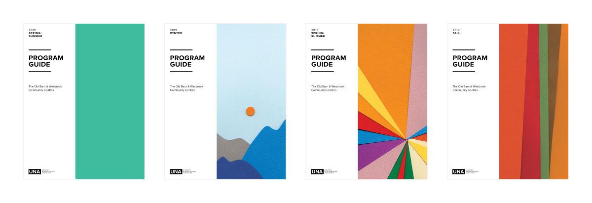 UNA University Neighbourhood Association themed Cover Design Concepts UBC, Vancouver | www.alicia-carvalho.com