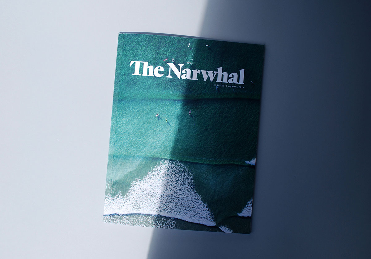 The Narwhal Magazine Cover Photography by Jeremy Koreski | www.alicia-carvalho.com