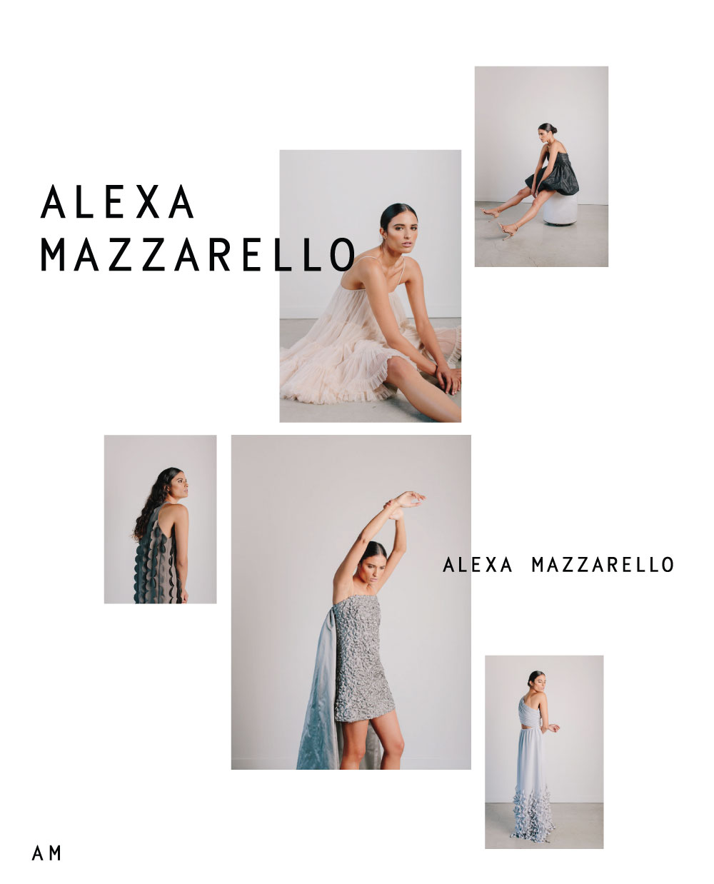 Alexa Mazzarello Vancouver Photographer Wordmark, Logo and Branding Design | www.alicia-carvalho.com
