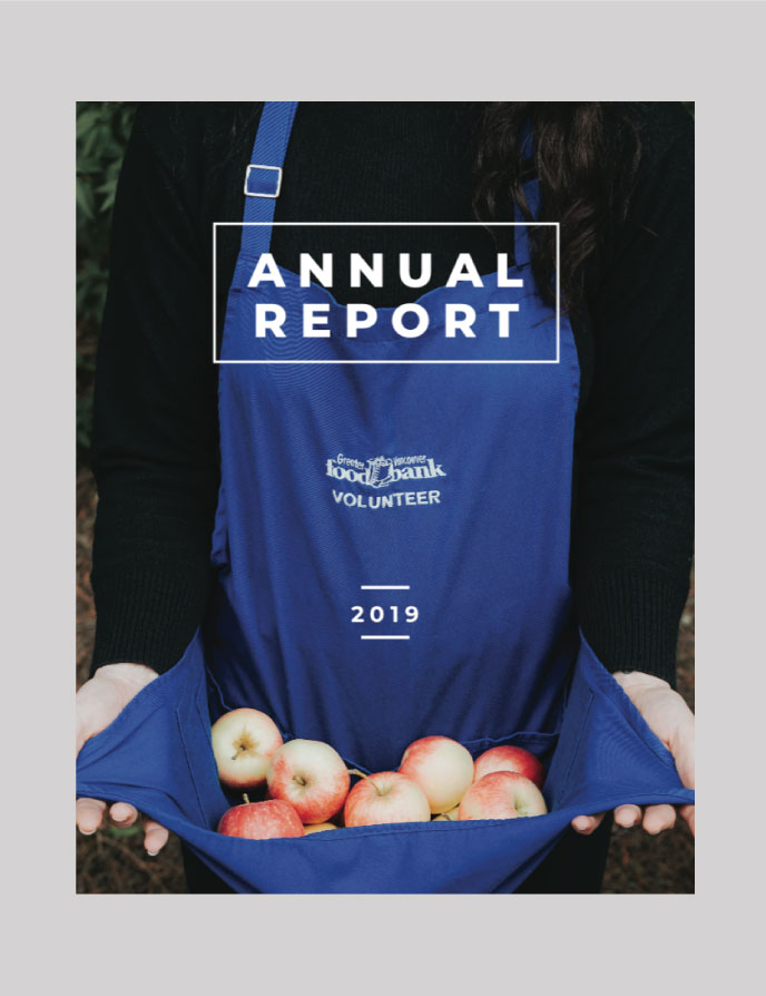 The Greater Vancouver Foodbank Annual Report Print and Layout Design | wwww.alicia-carvalho.com