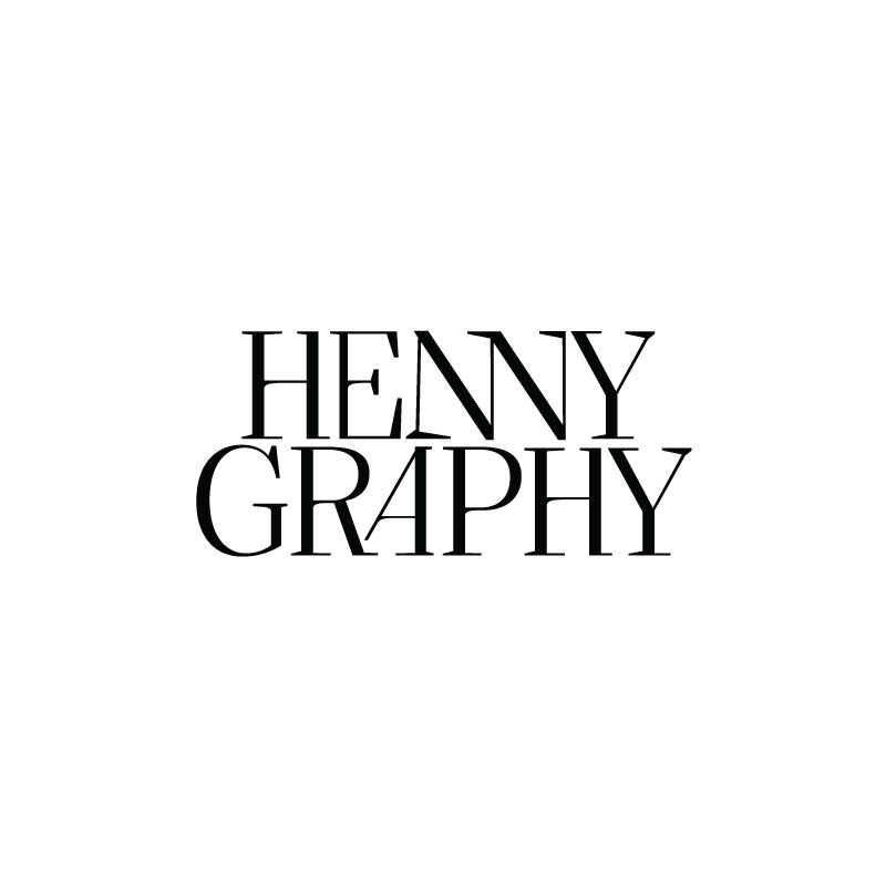 Hennygraphy Vancouver Photographer Logo, Wordmark and Branding Design | wwww.alicia-carvalho.com