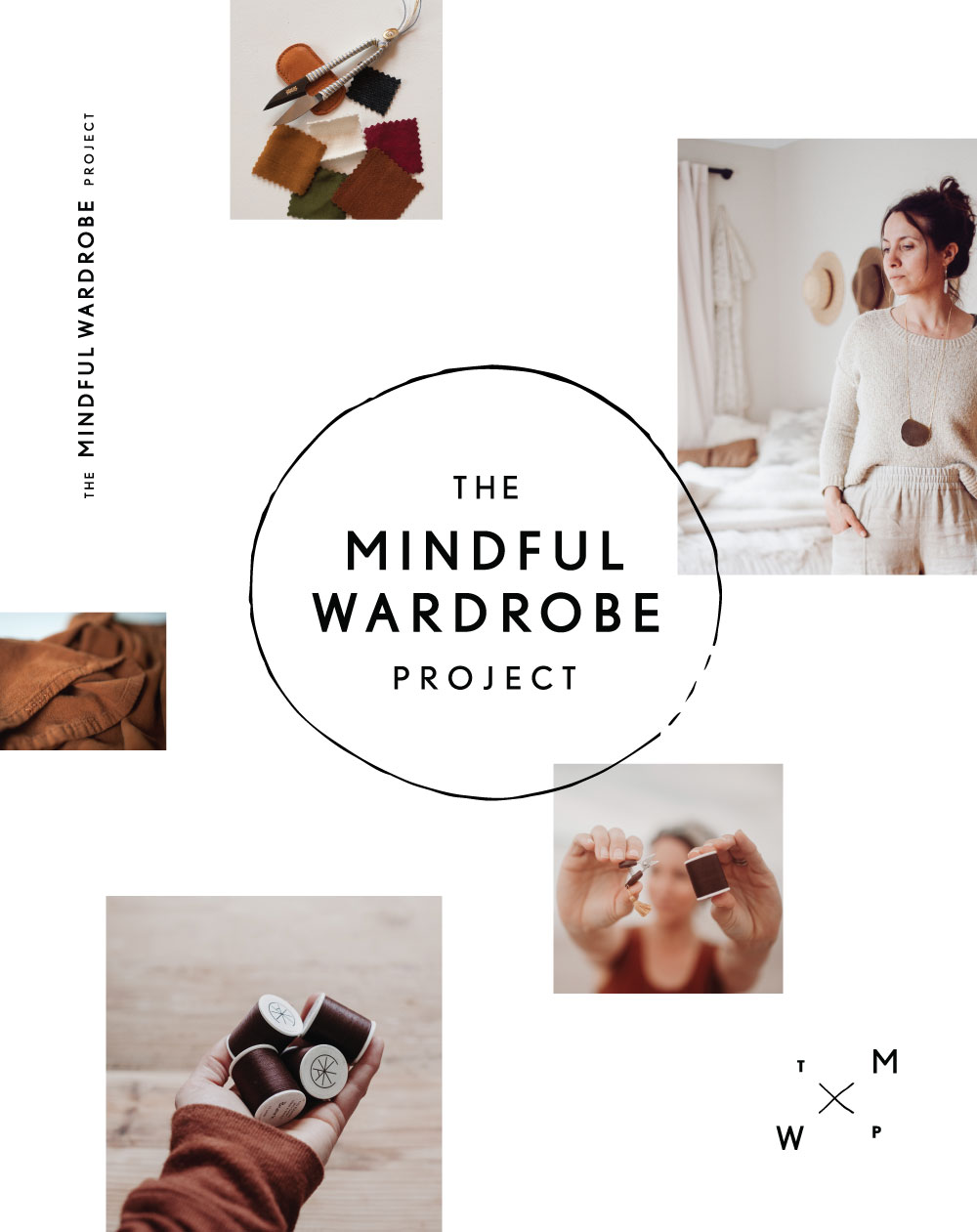 The Mindful Wardrobe Project Logo and Branding Design | www.alicia-carvalho.com