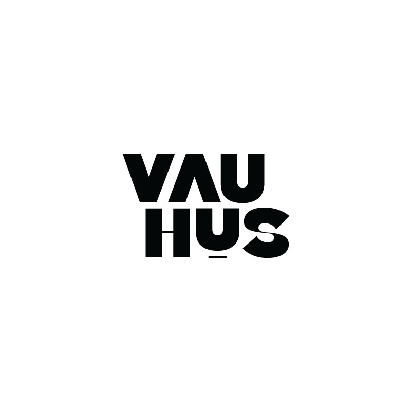 Vauhus Online Publication Logo, Wordmark and Branding Design | www.alicia-carvalho.com