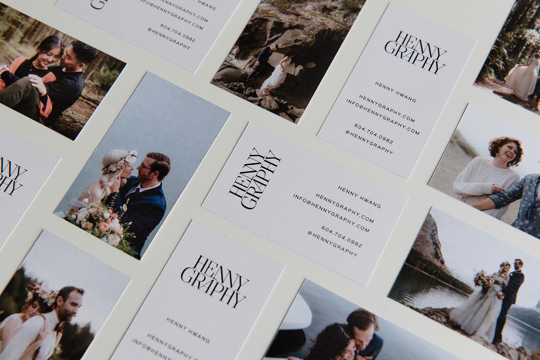 Hennygraphy Business Card print Design | www.alicia-carvalho.com