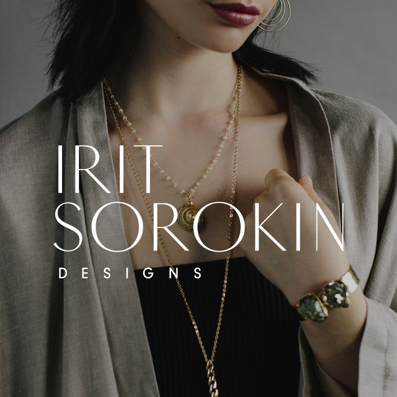 Irit Sorokin Vancouver Jewelry Designer Logo, Branding, Packaging and Print Design | www.alicia-carvalho.com